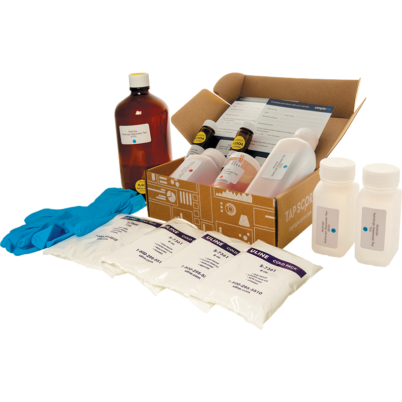 Cannabis Facility Wastewater Test Kit