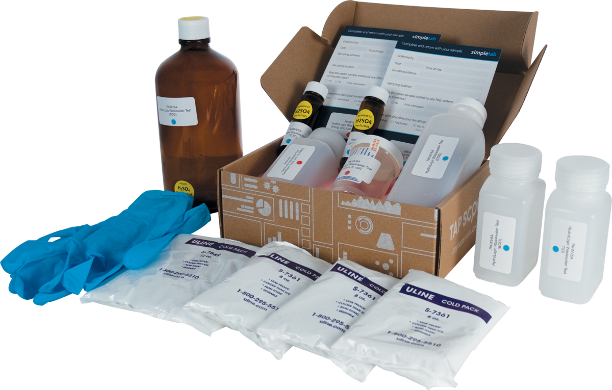 Cannabis Facility Wastewater & Comprehensive Water Test Kit