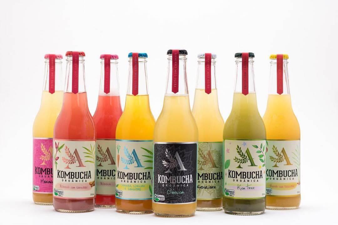 Aina Kombucha Bottles