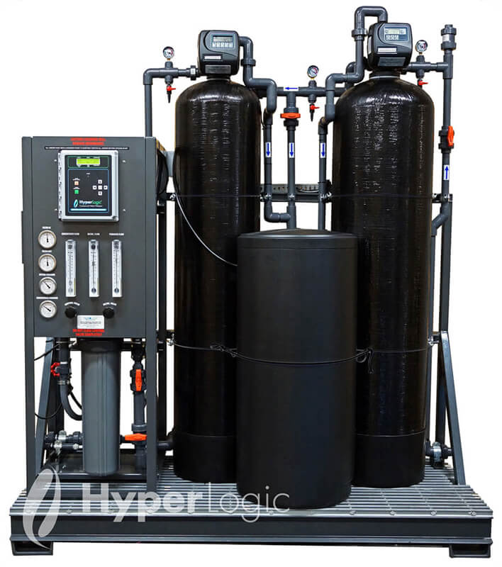 Carbon Softener Skid