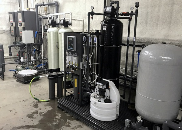 Commercial Cannabis Water Filtration