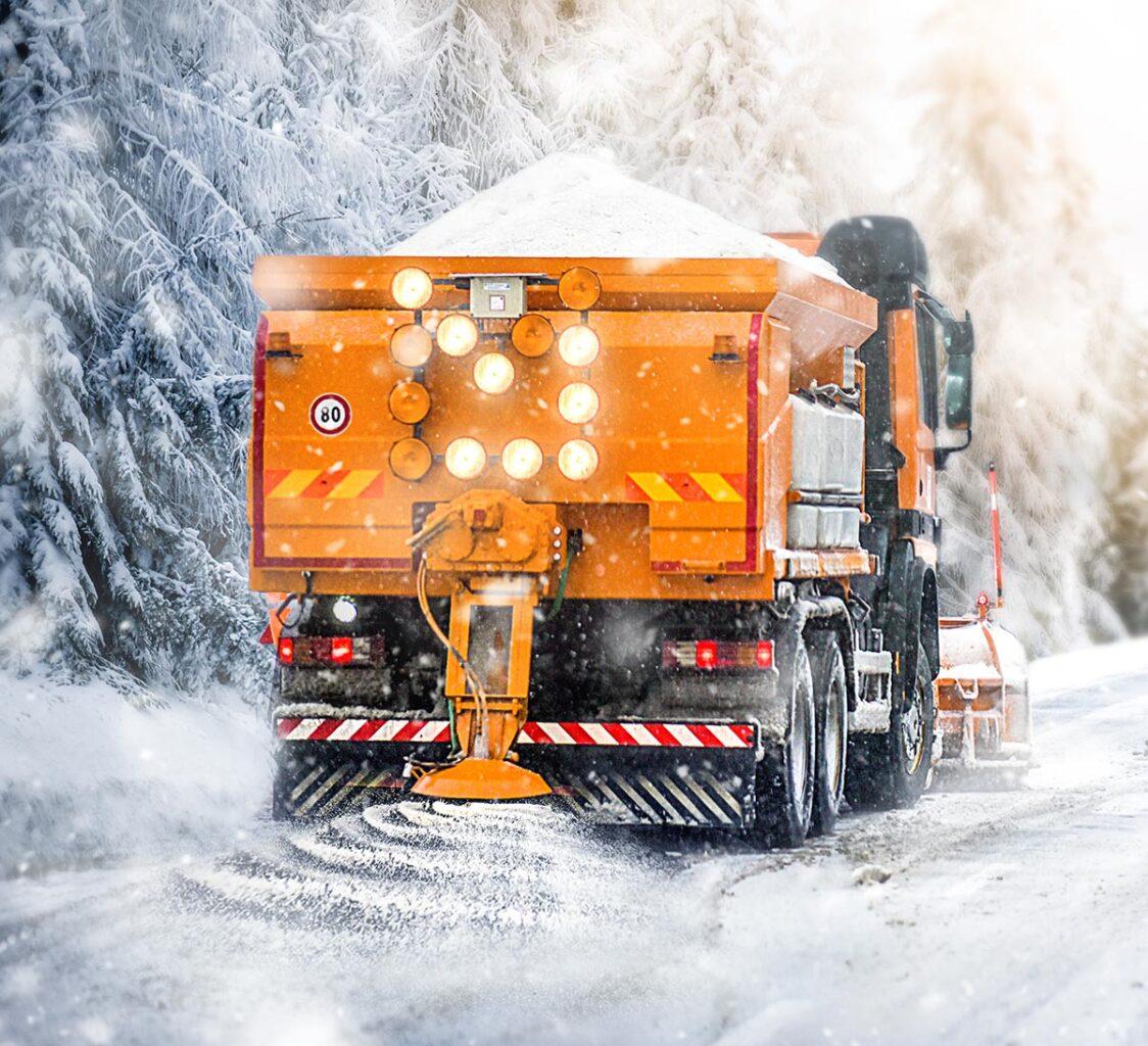 De-ice Truck