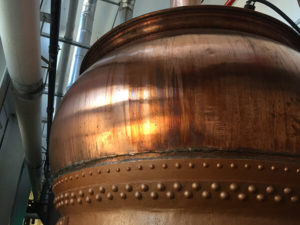 Dovetail Brewery Fermenting Vessel
