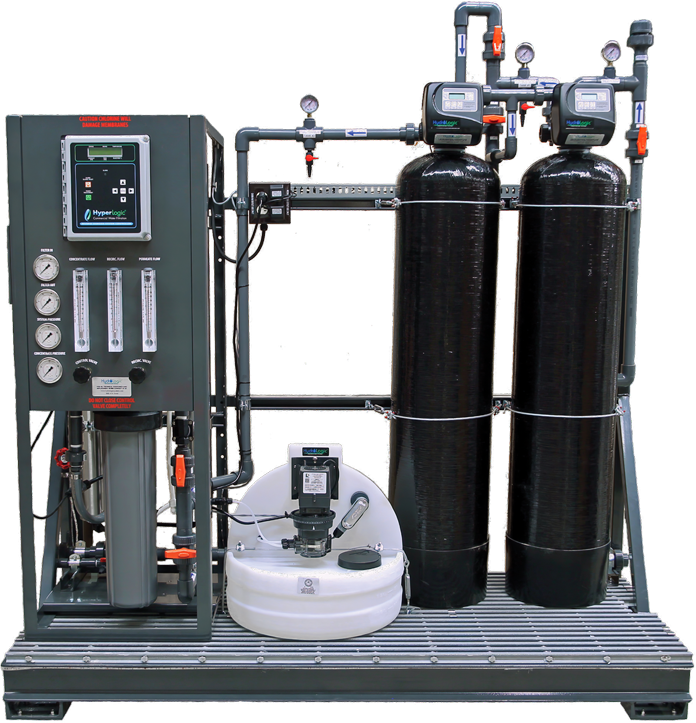 Dual Carbon Anti-Scalant Injection City Water Skid