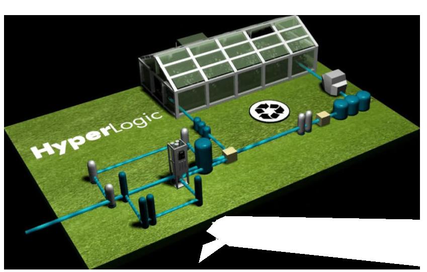 HyperLogic Zero-Waste Graphic