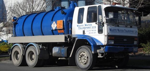Waste Water Truck